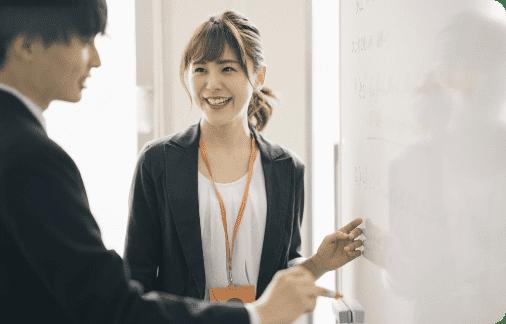 少数精鋭講師による高い指導実績